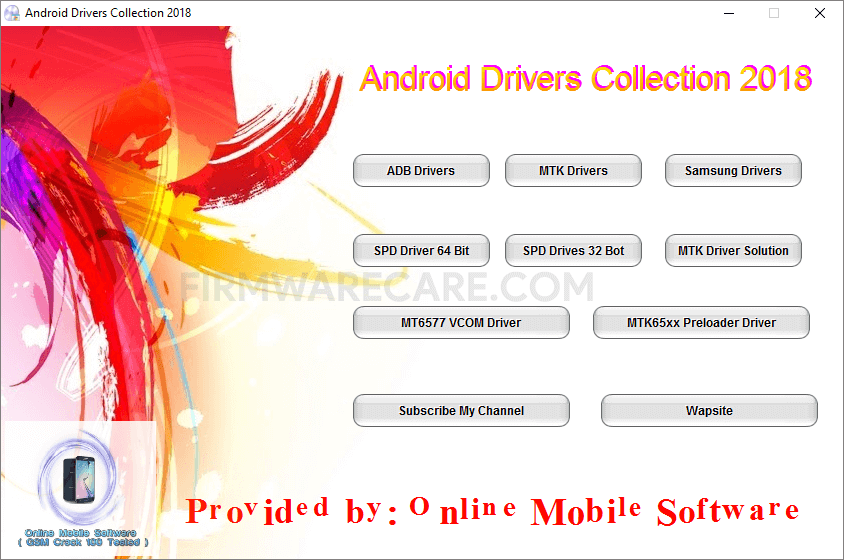 Android Drivers Collection 2018