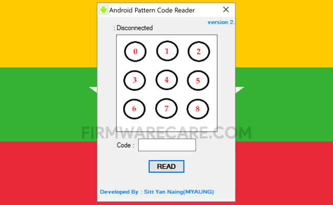 Android pattern Code Reader