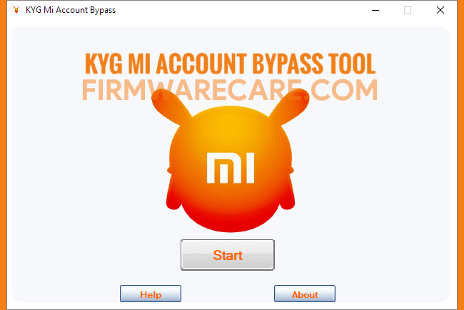 KYG Mi Account Bypass Tool