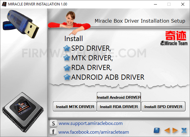 Miracle Driver Installation v1.00