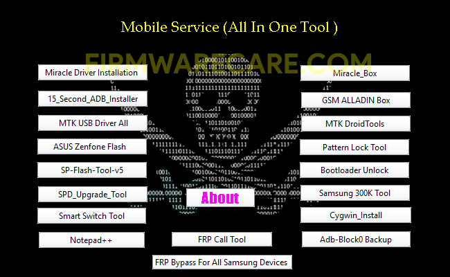 Mobile Service All in One Tool