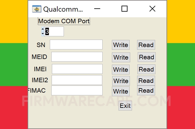 Qualcomm Modem Tools V1.1