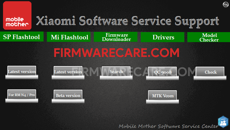 Xiaomi Software Service Support